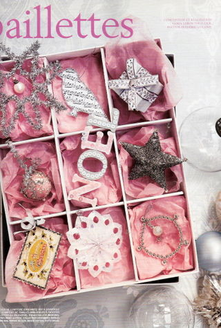 marie claire idees mag pink christmas