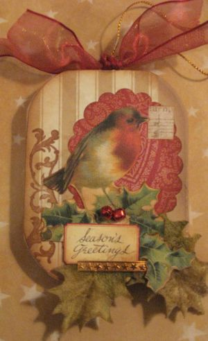 Sweet Birdie ornament by Yapping Cat