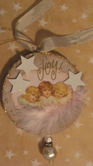 Angels of Joy ornament by Yapping Cat.