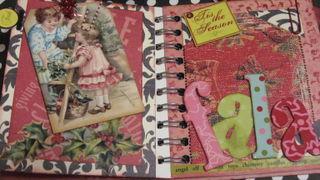 Merry Mini Christmas Album by Yapping Cat, Fa La La La page