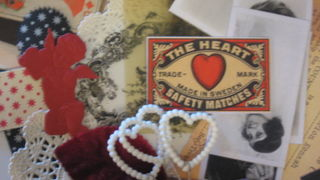 Fun things in this gorgeous kit from cupids to hearts.