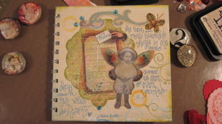 wee fairy journal with Helen Keller quote