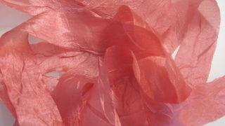 silk crush ribbon, new on my Etsy