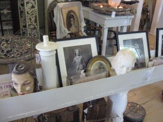 Ton's of great display ideas. As they said, NOT your Mom's antique mall. Indeed.