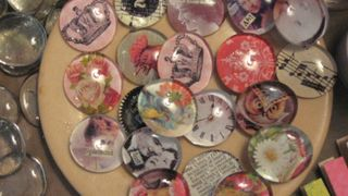 New Bubble Magnets (when I get em glued on) destined for the shop at DN.