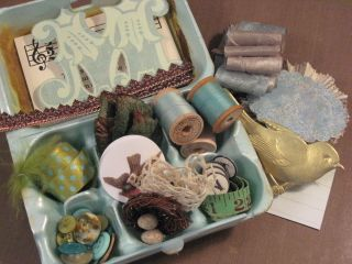 Bird Nest Destash Kit for sale in Glitter and Grunge