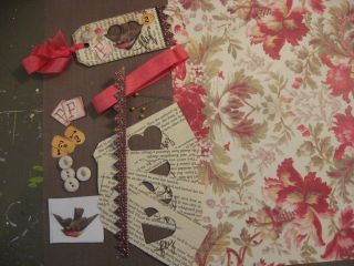 All the goods you need to make 4 tags. And a tag included, just add glue!