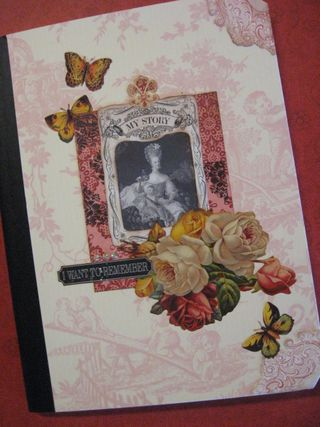 Marie A. Comp Book turned journal