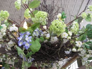 This huge, flower entwined chandi is one of the first things that customers see as they enter the store.
