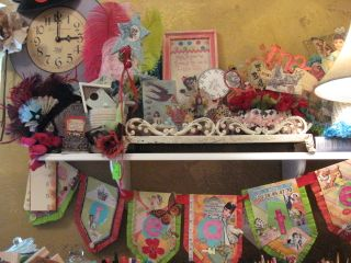 "The studio...Yapping Cat Studio that is! All my ""pretties""."
