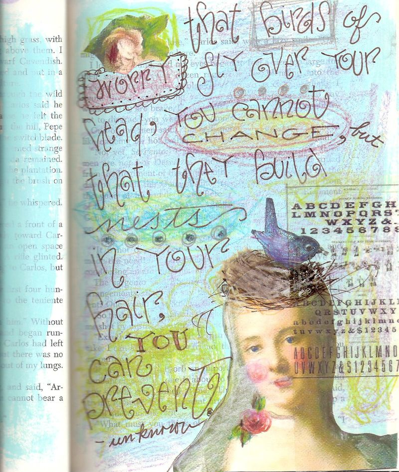 Mariejournal page