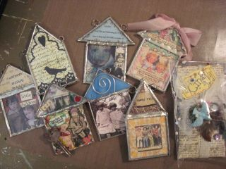 All of the wonderful houses I did receive, in a much more timely manner than my own.