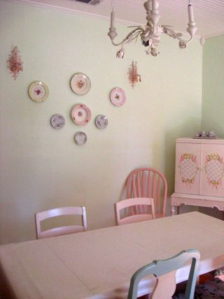 """The Cottage"" is where I held our bridal shower this weekend. This is the front room."