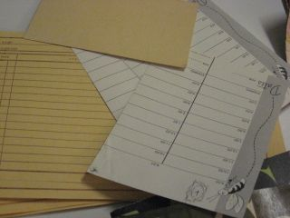 What is it about old ledger paper that makes my heart beat faster?