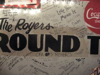 Royer's Cafe in Round Top