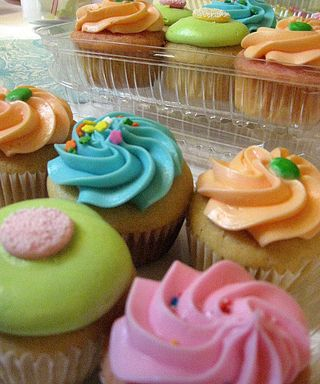 Cup Cakes! Whimsical sustenance is a must for creativity!