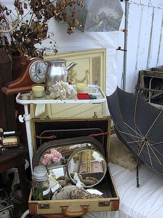 Garden Vintage Antiques Booth