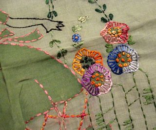 Beautiful stitchery.