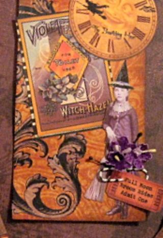 Witche Violet by Yapping Cat Designs
