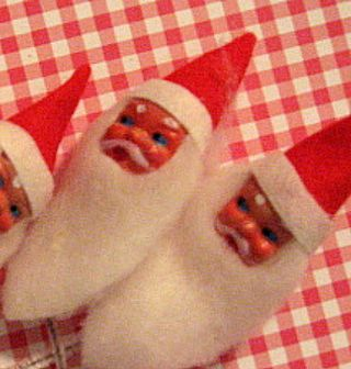 vintage Santa Heads for sell on my Etsy.