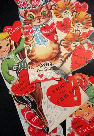 Vintage Valentines bring fun memories back to me!