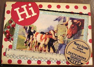 Cow Card by Yapping Cat Studios. Moo.