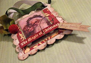 Christmas Ornament by Yapping Cat Studio