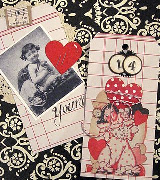 Valentine Tags by Yapping Cat Studio
