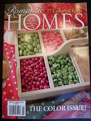 Romantic Homes March 2010 issue is the best!