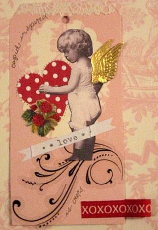 Cupid Inspired Love Tag by Yapping Cat Studio