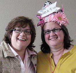 Me and Sis - Happy Birday! She's older ya know! Ha!