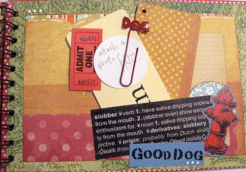 inside back cover, one last spot for journal tags.