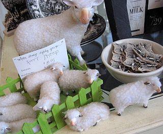 It's so Fluffy!!!!!! yep, I need sheep!