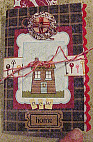 A New Home tiny book inspired by Julie Collings