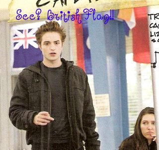Picture from Twilight Directors Notebook by Catherine Hardwicke