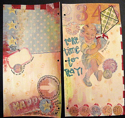 Journal page two page layout
